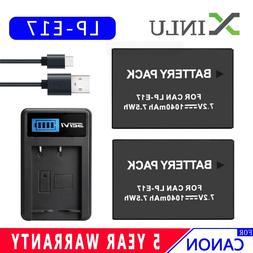 1040mAh LPE17 LP-E17 LP E17 Digital Camera <font><b>Battery<