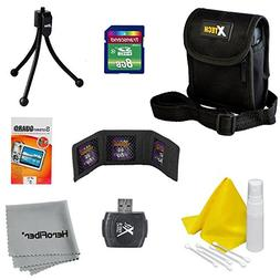 10pc Starter Accessory Kit for Nikon Coolpix S3300, S3500, S