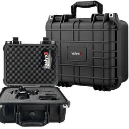 "13.37"" Protective DSLR Camera Hard Case Water & Shock Proof"