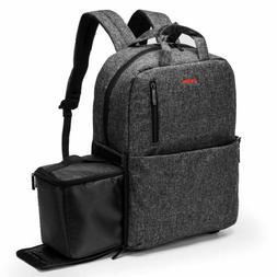 """Amzbag 15.6"""" Laptop Bag Travel DSLR Camera Backpack + Remova"""