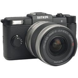 PENTAX 15100 12.4 MEGAPIXEL Q DIGITAL SLR CAMERA BLACK WITH