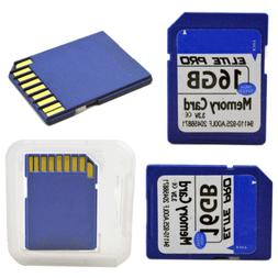 16G SD Memery Card High Speed Class 10 SD Flash Card Secure