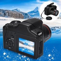 16MP Digital SLR Camera 2.4 Inch TFT LCD Screen 1080P 16X Zo