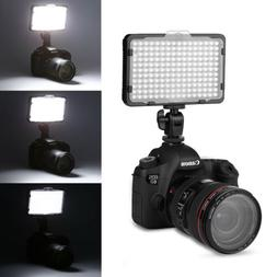 176 LED 5600K Studio Video Photo Light Lamp Dimmable Panel F