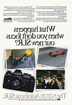 1987 Nikon N2020 Autofocus SLR Camera: What Happens, Nikon P