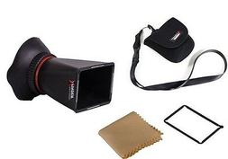 2.8X LCD screen Viewfinder Magnifier for Canon 5D3 5D-3 1DX