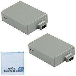 2 LP-E5 1800mAh High-Capacity Camera Batteries for Canon EOS