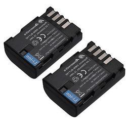 2 x Battery for Panasonic DMWBLF19 DMW-BLF19E Lumix DMC-GH3