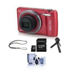 Minolta 20 Mega Pixels HD Camera w/12x Optical Zoom RED With