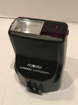 MINOLTA 2000xi SLR Camera Flash fits Maxxum