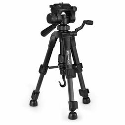 "22"" Lightweight DSLR Camera Tabletop Tripod 3-Way Head Quick"