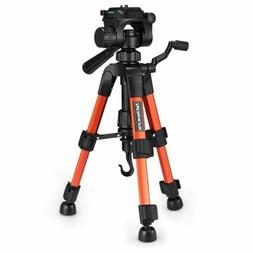 "22"" Mini Lightweight DSLR Camera Tabletop Tripod 3-Way Head"