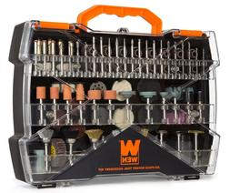 WEN 230282A 282-Piece Rotary Tool Accessory Kit with Carryin