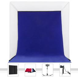 "16"" Photography Light Tent Kit Backdrop Cube In A Box Mini S"
