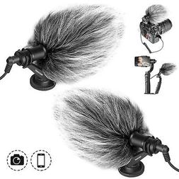 2pcs CM14 Video Microphone Livestream Recording Mic for iPho