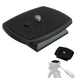 Tripod Quick Release Plate Screw Adapter Mount Head For DSLR