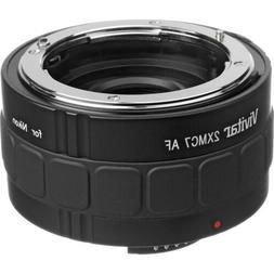 Vivitar 2x 7 Elements Teleconverter for Nikon DSLR Digital S