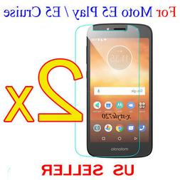 2x Clear LCD Screen Protector Guard Cover For Motorola Moto