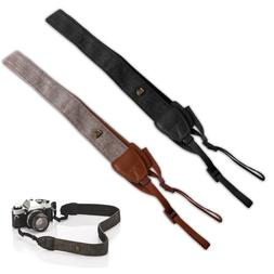 2x Leather Camera Neck Shoulder Strap Belt For Nikon Canon S