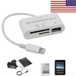3 in1 USB SD Card Reader Micro Camera DSLR Link Adapter read