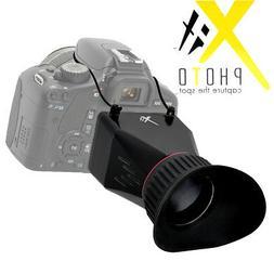 3'' LCD Screen 3.4x ViewFinder For Nikon D90 D3100 D700 D300