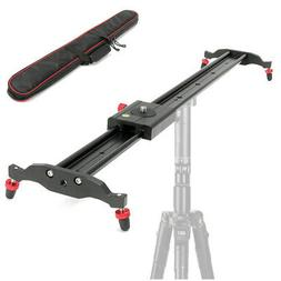 32''/80cm DSLR Camera Track Dolly Rail Slider Video Studio S