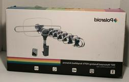 POLAROID 360 Motorized Rotating HDTV Amplified Antenna With
