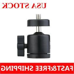 360°Swivel Mini DSLR Camera Tripod Ball Head Bracket Holder