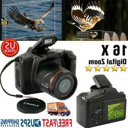 3DSLR Digital Camera 3 Inch TFT LCD Screen HD 16MP 1080P 16X