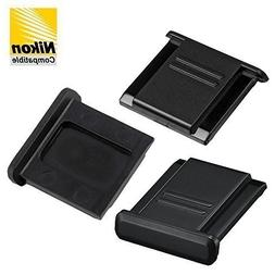 3pcs Hot Shoe Cover Protector Replaces Nikon BS-1 fits all N