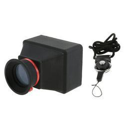 3X Magnification Viewfinder Magnifier Extender View Finder 3