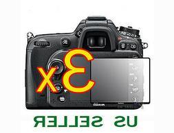 3x Nikon Digital SLR D7100 D7200 Camera Clear LCD Screen Pro