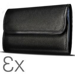 4 Pocket Camera DSLR Lens Filters Wallet Case Pouch Holder P