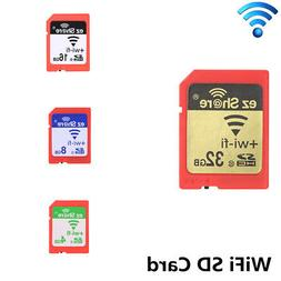 4GB 8GB 16GB 32GB WiFi Share Memory SD Card Camera SDHC Flas
