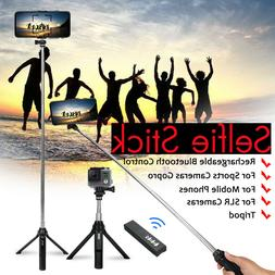 4in1 bluetooth Remote Selfie Stick Tripod For Android IOS Ph