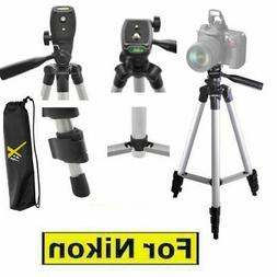 "50"" PRO LIGHTWEIGHT TRIPOD FOR NIKON DSLR CAMERA D5000 D5100"