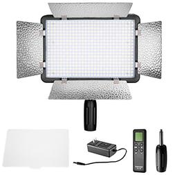 Neewer LED 500 Ultra High Power Dimmable Video Light with Bu