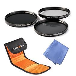 K&F Concept 58mm Lens Filter Kit ND2 ND4 ND8 Neutral Density