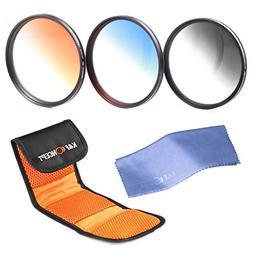 52mm graduated nd filter, K&F Concept 52mm Slim Graduated Co