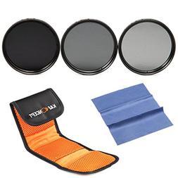 77mm ND Filter,K&F Concept 77mm Filter kit Neutral Density N