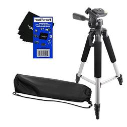 "HeroFiber 57"" Pro Series Lightweight Photo/Video Tripod & Ca"