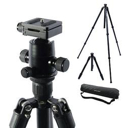 """59"""" Carbon Fiber Camera Tripod Stand With Ball Head BH280 DS"""