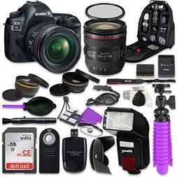Canon 5D Mark IV DSLR Camera with Canon EF 24-70mm f/4L IS U