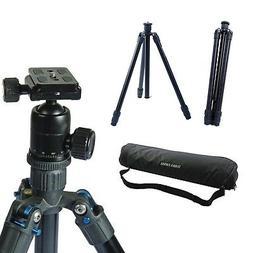 "60"" Aluminum Camera Tripod with Ball Head BH300 DSLR Photogr"