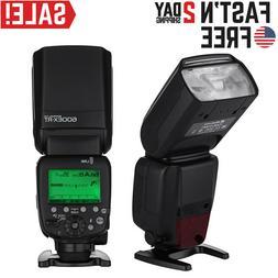 600EX-RT GN60 HSS 1/8000s Wireless Flash Speedlite TTL II Ma