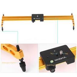 Andoer 60CM DSLR Camera Track Dolly Slider Video Stabilizati