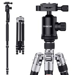 "Beschoi 66"" Professional Camera Travel Tripod Monopod Ball H"