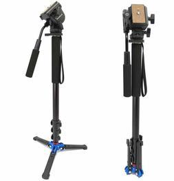 "Koolehaoda 68"" Professional Camera Monopod Fluid Video Head"