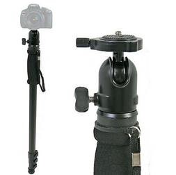 "69"" Adjustable Monopod w/ Ball Head Camera Stand Aluminum DS"