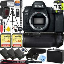 Canon 6D Mark II Full-Frame EOS DSLR Camera Pro Memory Power